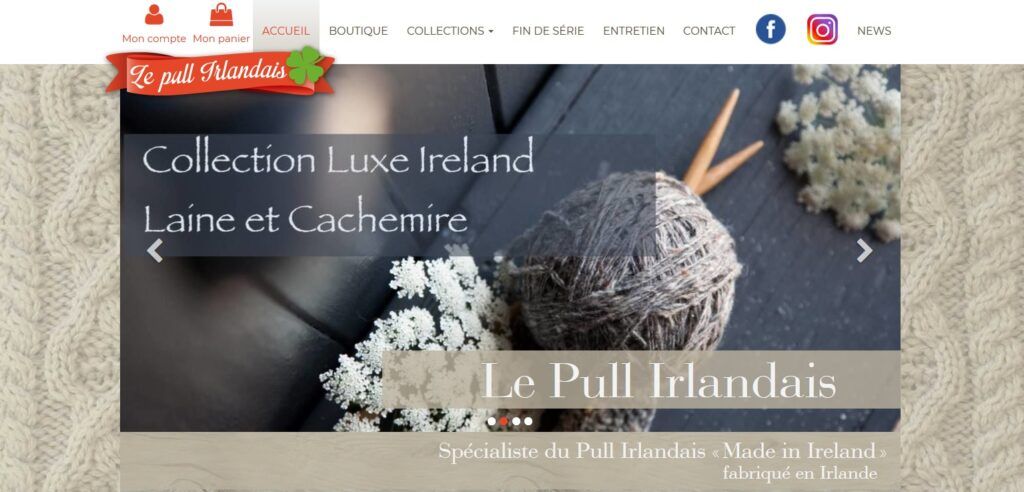 le pull irlandais